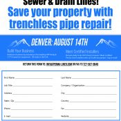 Perma-Liner™ got a head start for the Trenchless Tour in Denver!